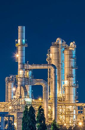 Atuação diferenciada no setor químico e petroquímico